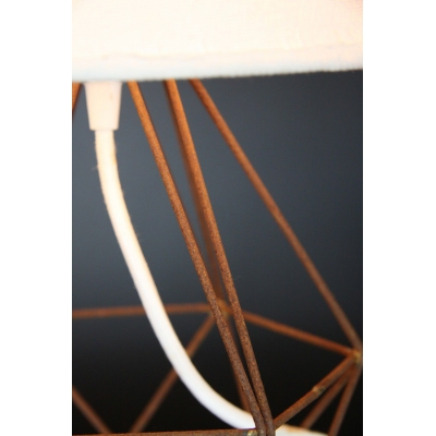 Empirical Style Table Light Rusted