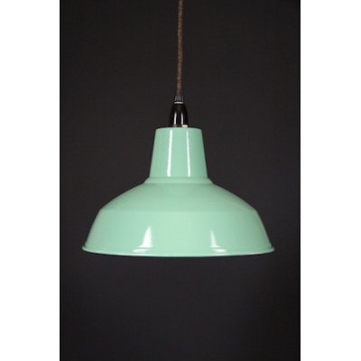 Metal Shade Pendant Peppermint