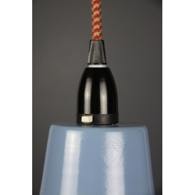Metal Shade Pendant Storm Blue