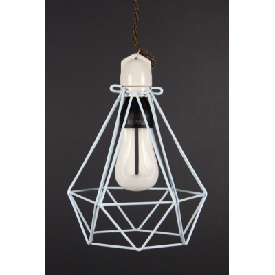 Diamond Cage Light Blue