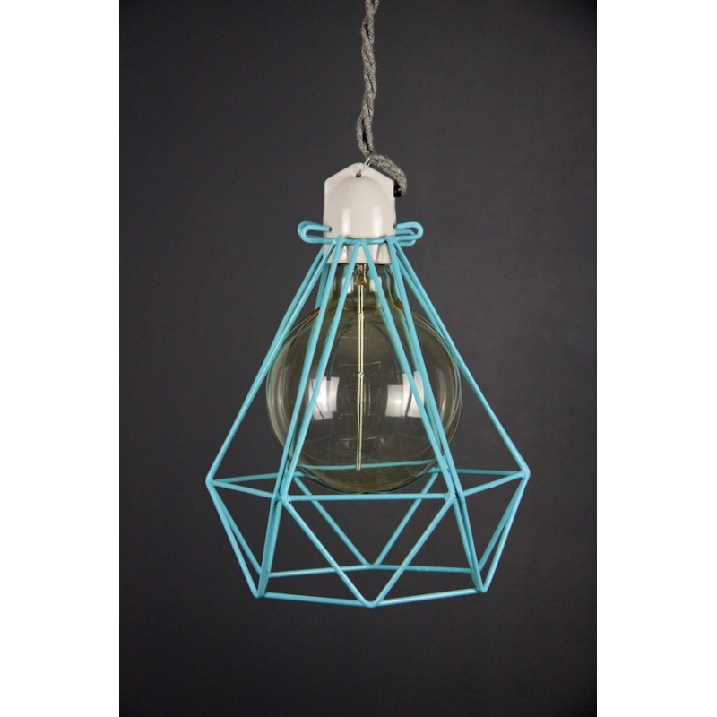 Diamond Cage Pendant