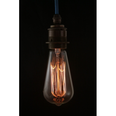 Edison Lightbulb Teardrop Long