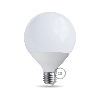 Light bulb energy saving Globe 90 25W E27
