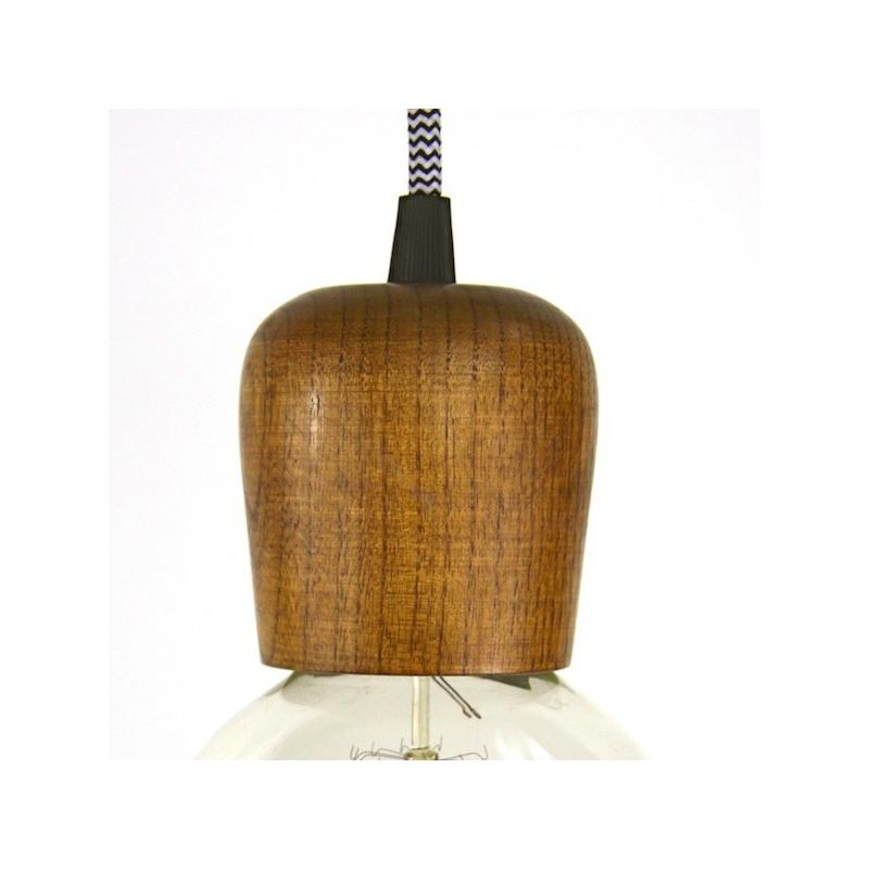Wooden Lampholder Light