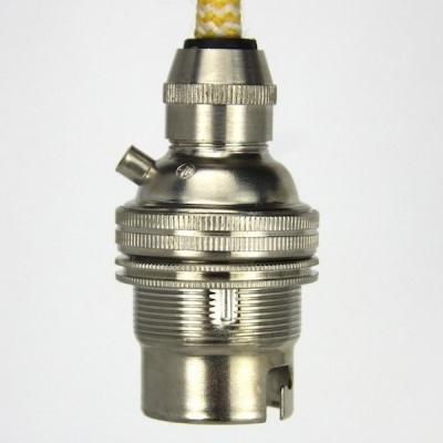 Lampholder Small Nickel