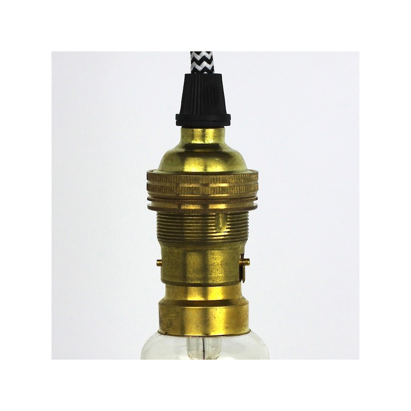 Lampholder Small Polished Brass