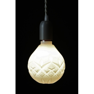 Crystal LED Light Bulb: White