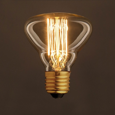 Vintage Golden Light Bulb BR95 Carbon Filament Cage 30W E27 Dimmable 2000K
