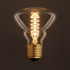 Vintage Golden Light Bulb BR95 Carbon Filament Double Spiral Curve 30W E27 Dimmable 2000K