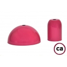Fuchsia painted socket and rose kit, without cable