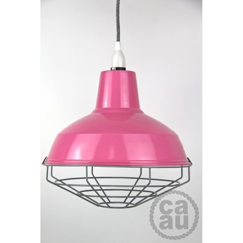 Cage Shade Pink & Grey