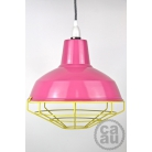 Cage Shade Pink & Yellow
