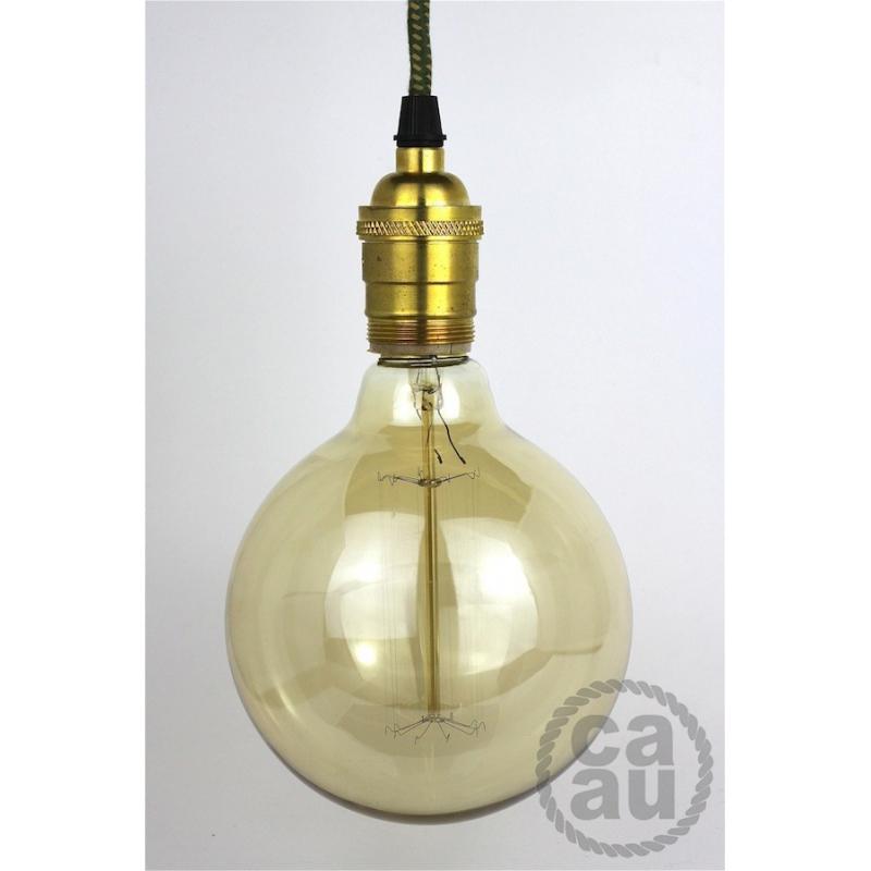 Lampholder Large Polished Brass