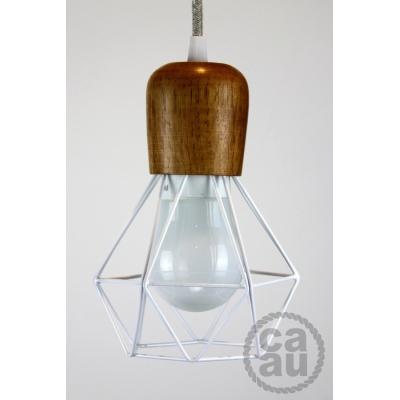 The Woodsman Pendant White
