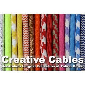 Australia & New Zealand's largest collection of fabric cable.
