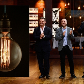 Edison Lightbulbs on Masterchef Australia.