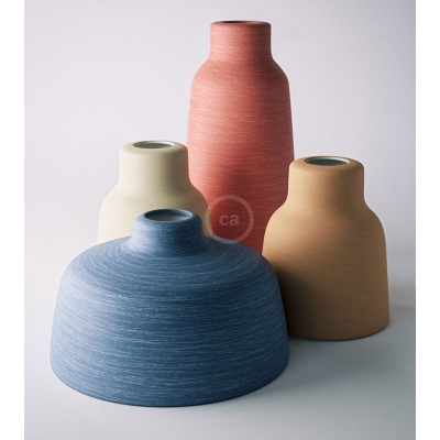 New ceramic Materia lampshades