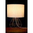 Empirical Style Table Light Gold Pink