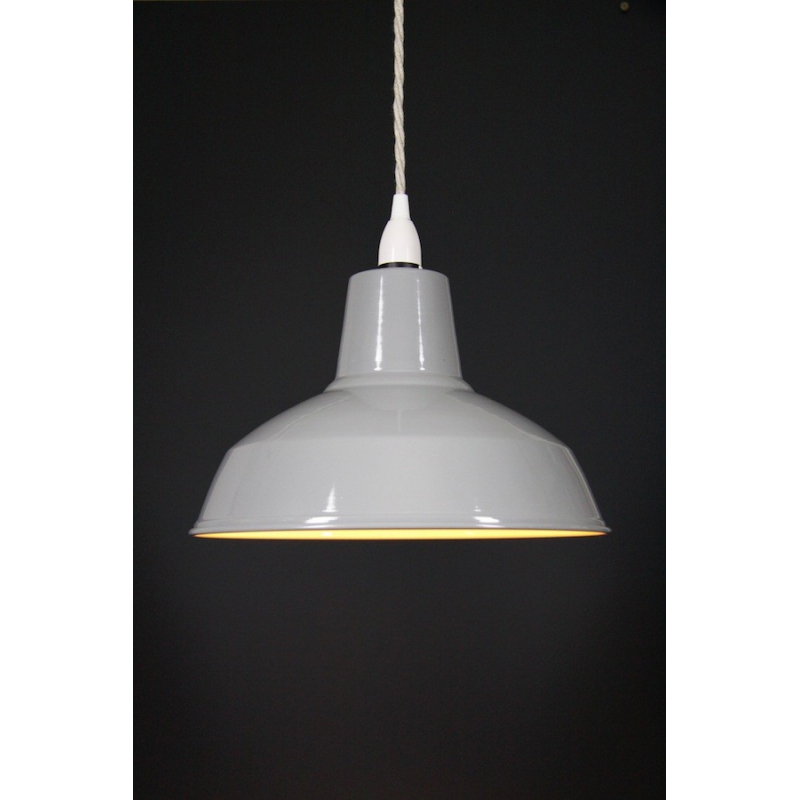 Metal Shade Pendant Grey