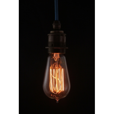 Edison Lightbulb Teardrop Short