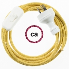 Wiring Glittering Gold textile cable RL05 - 1.80 mt