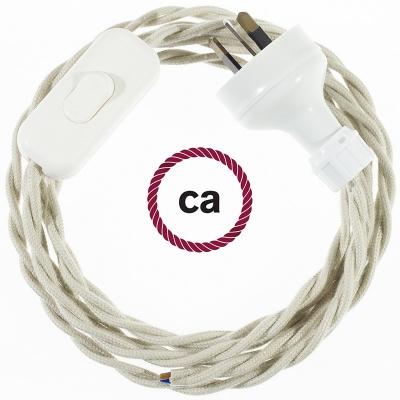 Wiring Dove Cotton textile cable TC43 - 1.80 mt