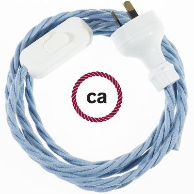 Wiring Ocean Cotton textile cable TC53 - 1.80 mt