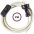 Wiring Dove Cotton textile cable RC43 - 1.80 mt