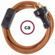 Wiring Deer Cotton textile cable RC23 - 1.80 mt