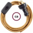 Wiring Whiskey Rayon textile cable RM22 - 1.80 mt