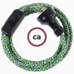 Wiring Pixel Green textile cable RX05 - 1.80 mt