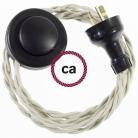 Wiring Pedestal Dove Cotton textile cable TC43 - 3 mt