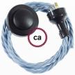 Wiring Pedestal Ocean Cotton textile cable TC53 - 3 mt
