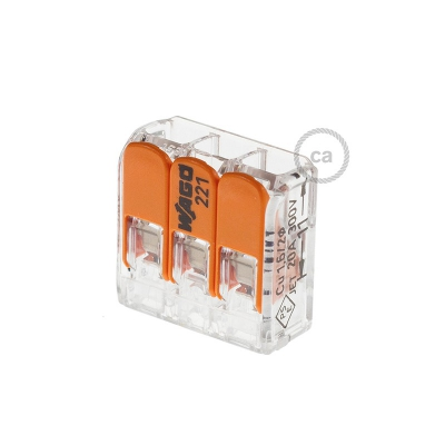 3 poles Transparent Universal Splicing Connectors