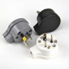 Electrical Plug Male 3 pin socket AU Side entry