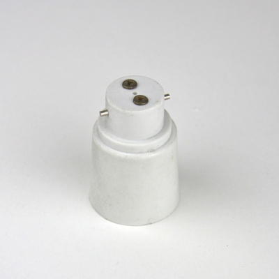 Light bulb Converter: Bayonet B22 to Screw in E27 adaptor.