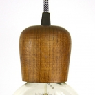 Wooden Lampholder Light Maple