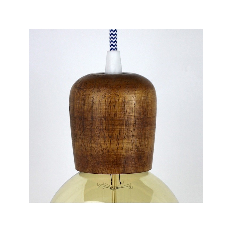 Wooden Lampholder Medium Maple