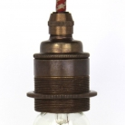 Lampholder Large Brass Edison Screw E27
