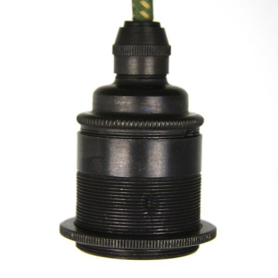 Lampholder Large Bronze Edison Screw E27