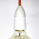 Lampholder Slim White B22 for shade ring AU.