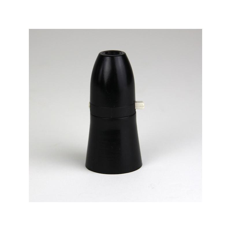 Lampholder On/Off Black