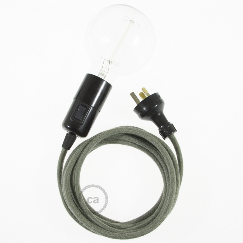 Create your RC63 Grey Green Cotton Snake and bring the light wherever you want.