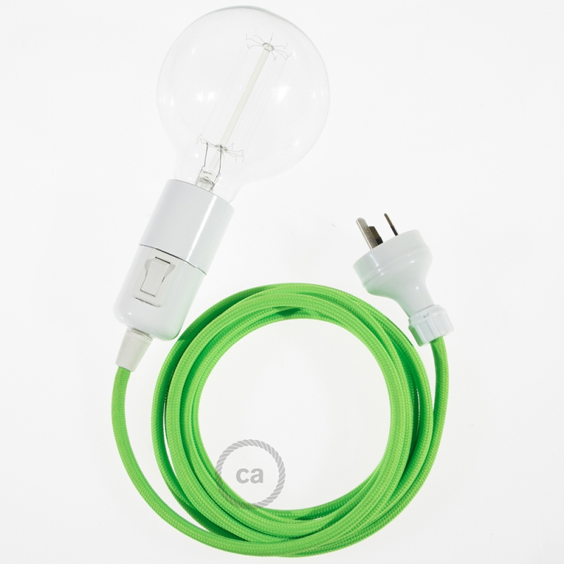 Create your RF06 Green Fluo Snake and bring the light wherever you want.
