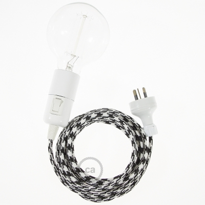 Create your RP04 Bicolored Black Snake and bring the light wherever you want.