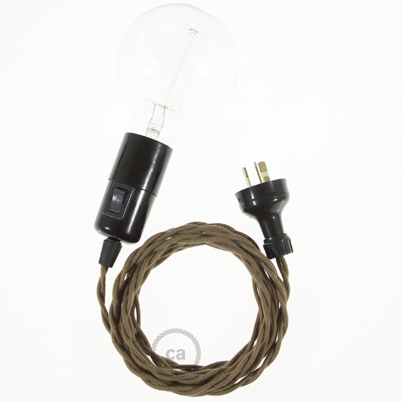 Create your TC13 Brown Cotton Snake and bring the light wherever you want.