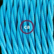 Create your TM11 Turquoise Rayon Snake and bring the light wherever you want.