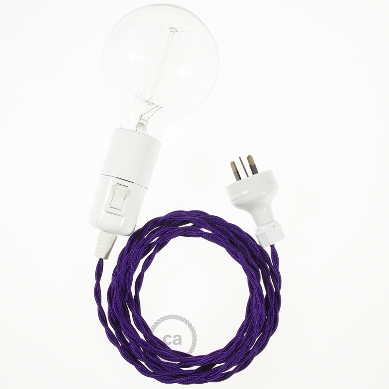 Create your TM14 Violet Rayon Snake and bring the light wherever you want.