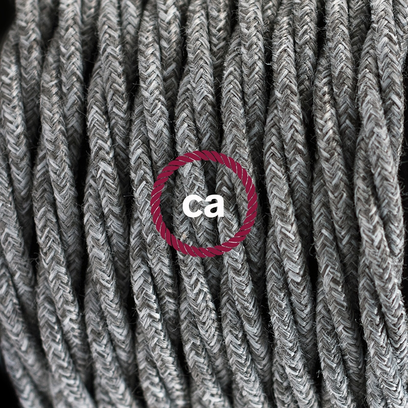 Create your TN02 Grey Natural Linen Snake and bring the light wherever you want.