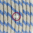 Create your RD55 Stripes Steward Blue Snake and bring the light wherever you want.